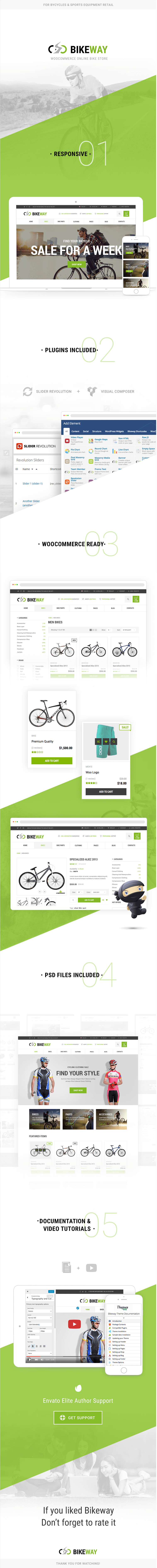BikeWay - Sport Shop WooCommerce WordPress Theme by Themes Zone